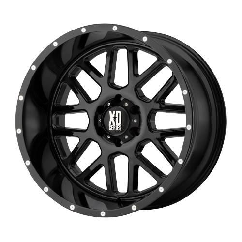 XD SERIES BY KMC WHEELS GRENADE GLOSS BLACK